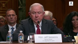 AG Sessions testifies on DOJ budget at Senate Appropriations Committee hearing - ABCNEWS