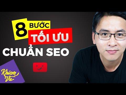 8 bước tối ưu video youtube chuẩn seo