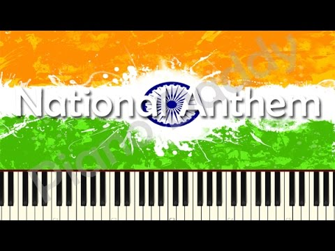 Jana Gana Mana (National Anthem) Piano Tutorial ~ Piano Daddy