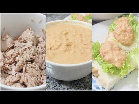 Crema de atún para untar, receta rápida y fácil- KATHY GAMEZ