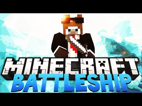 Minecraft BATTLESHIP Minigame - Realistic Childhood Game! (Battleship War in Minecraft)