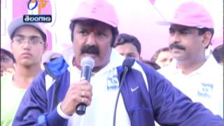 Several Celebrities Including Balakrishna Participated In Pink Ribbon Walk In Hyderabad - ETV2INDIA