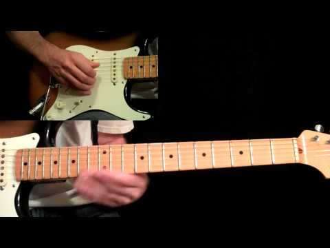 Eric Johnson - Manhattan Guitar Lesson Pt.5 - Main Solo (Second Half)