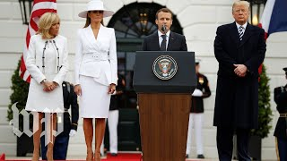 Trump and Macron's full speeches at the White House - WASHINGTONPOST
