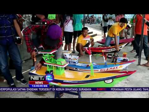 Uniknya Balapan Pesawat dan Kapal di Temanggung - NET12
