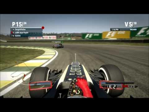 Campeonato F1 2013 GP do Brasil Xbox 360