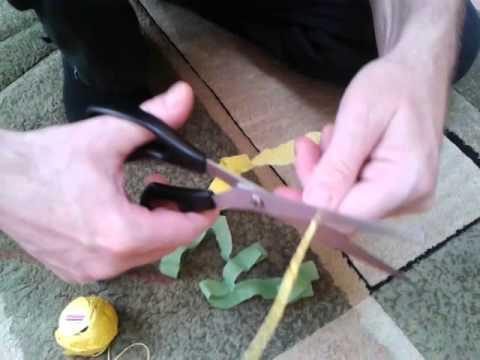 Jakrobić kwiatki z krepiny