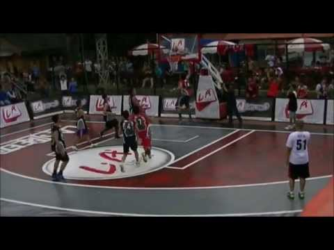 LA Lights Streetball 2012 - Top 10 Plays Open Run Jakarta