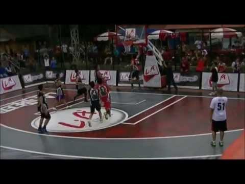 LA Lights Streetball 2012 - Top 10 Plays Open Run Jakarta