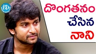 I Regret Being A Thief - Nani || Gentleman Movie || Talking Movies with iDream - IDREAMMOVIES
