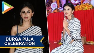 CHECK OUT: Mouni Roy Graces Durga Pooja celebration in Vile Parle - HUNGAMA