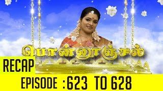 Ponnoonjal Episode 623 to 628 Recap of This Week's Episodes – Sun TV Serial