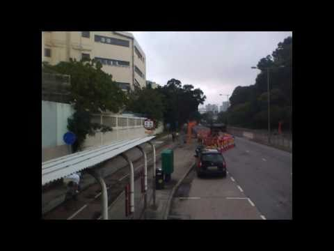 Hong Kong, Timelapse of Bus route 74K/香港巴士路線74K
