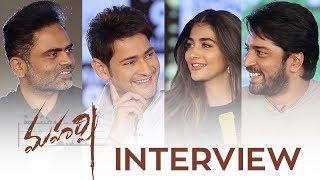 Maharshi Interview - Mahesh Babu, Pooja Hegde, Allari Naresh   Vamshi Paidipally - DILRAJU