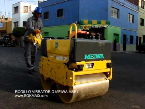 Rodillo Compactador Meiwa MSR7 SOKMAQ