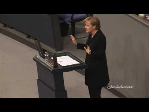 Angela Merkel - Jetzt rede ich hier (Haushaltsdebatte)