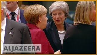 🇬🇧May tries to renegotiate Brexit deal in Brussels talks l Al Jazeera English - ALJAZEERAENGLISH