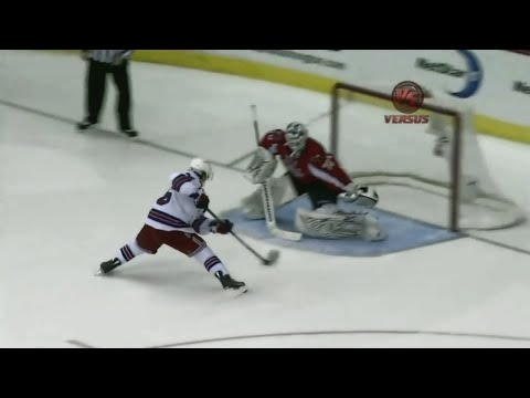 Mats Zuccarello Shootout Goal vs Washington | Jan 24th, 2011 [HD]
