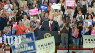 Trump holds a rally in Ohio - WASHINGTONPOST