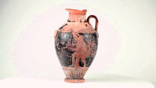 Attic Red Figured Neck Amphora, 5th century BC