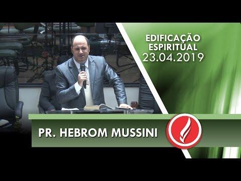 Pr. Hebrom Mussini | Três qualidades de José | Gn 41.38 | 23 04 2019