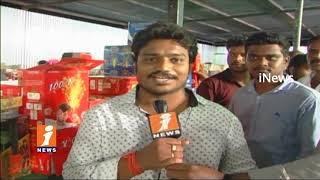 Diwali Crackers Purchase Stalls A Head Of Diwali In karimnagar | iNews - INEWS