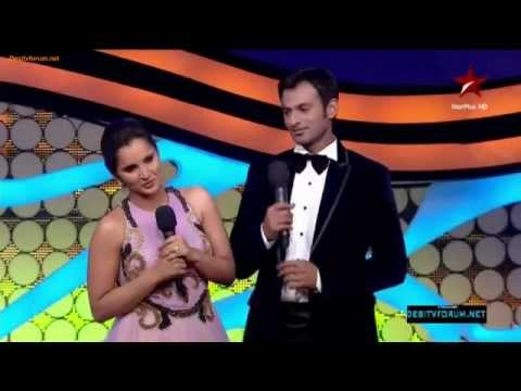 Shoaib Malik & Sania Mirza Beautiful & Adorable performance