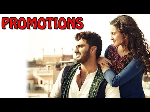 Arjun Kapoor & Sonakshi Sinha Promote Tevar Movie At A College Event | Bollywood News cloned