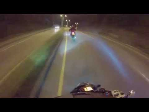 Pulsar 200 NS Bajando Palmas, Adrenalina Pura!! GoPro Hero 3 1080p