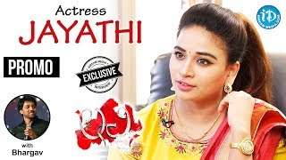 Lachi Actress Jayathi Exclusive Interview - Promo || Talking Movies With iDream - IDREAMMOVIES