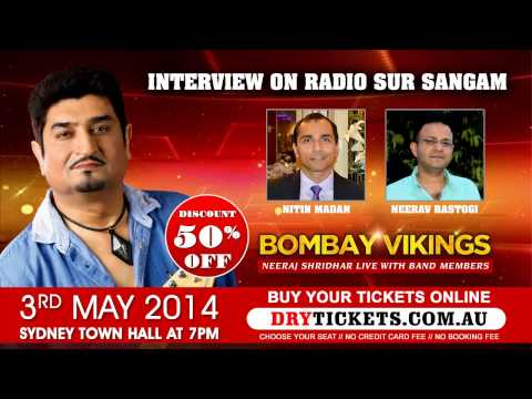 Interview on Radio SurSangam - Nitin Madan & Neerav Rastogi