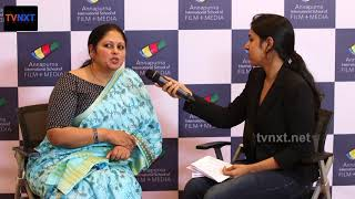 Jayasudha Exclusive Interview at Annapurna International School of Film And Media | TVNXT Hotshot - MUSTHMASALA