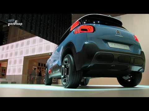 Autoperiskop.cz  – Výjimečný pohled na auta - VIDEO – Citroën C-Aircross Concept – Autosalon Ženeva 2017
