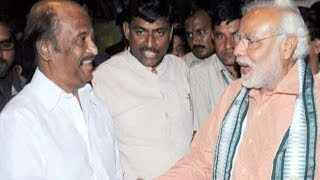 Rajinikanth campaigns for Narendra Modi