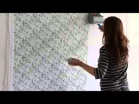 Duvarlara desen veren boya rulosu