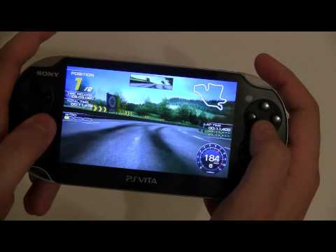 PS Vita Ridge Racer Hands On and Preview #SPSVG