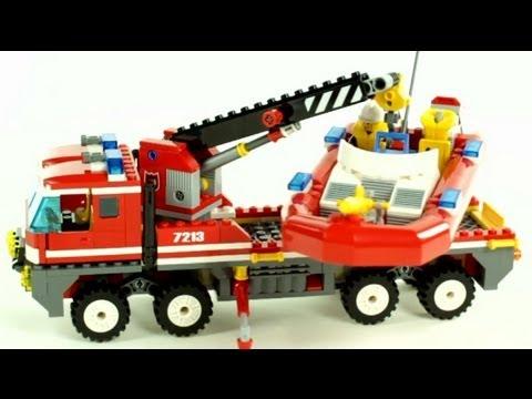 LEGO City – OffRoad Fire Truck & Fireboat – Muffin Songs' Oyuncakları Tanıyalım