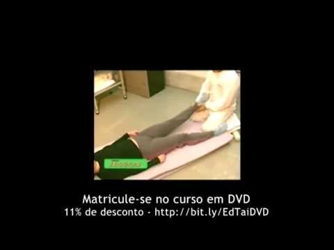 Curso de Massagem Tailandesa: Como fazer massagem no pé. EDUBRAS em DVD.