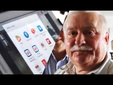 Jak prezydent Wałęsa wrzuca zdjęcia na mikrobloga