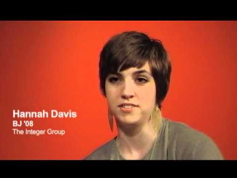 Hannah Davis, BJ '08: Which Journalism Skills Are Important?