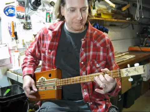 Cigar Box Guitar Slide Blues Lesson Mike Snowden
