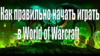 Как правильно начать играть в World Of WarCraft?