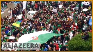 🇩🇿 Algerians rally fifth consecutive Friday against ailing leader l Al Jazeera English - ALJAZEERAENGLISH
