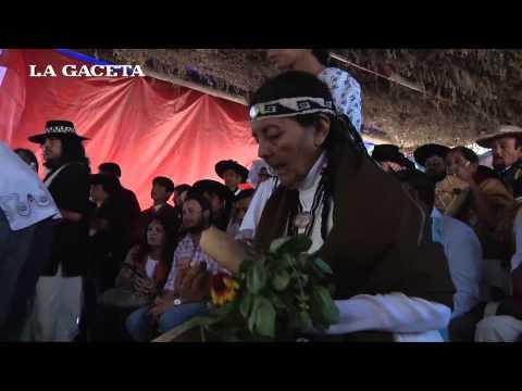 Celia Segura volvió a ser elegida Pachamama