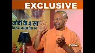 4 yrs of Modi govt:  'Modi magic' continues to rise every day, says UP CM Adityanath - INDIATV