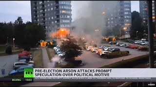 Sweden struck by coordinated arson attacks 3 weeks before elections - RUSSIATODAY