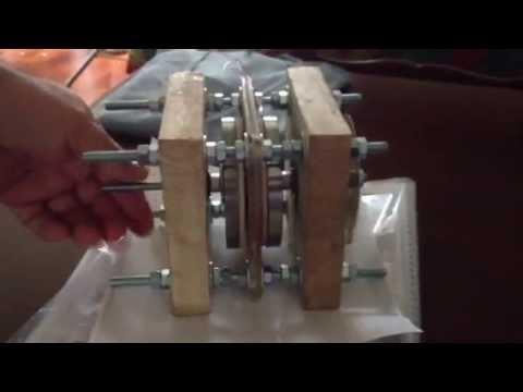 axial flux motor generator