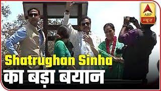 Akhilesh Yadav Yuva Shakti Ka Pratik Hai: Shatrughan Sinha - ABPNEWSTV