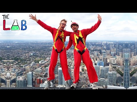 What If You Fell From 356 Meters? (THE LAB)