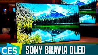 Sony Bravia OLED con Android TV, primeras impresiones #CES17